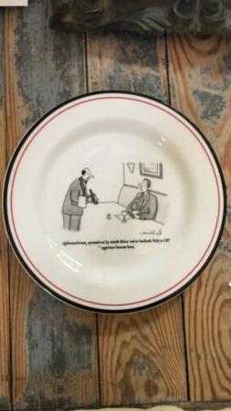 1999 THE NEW YORKER Appetizer Cheese Plate Cartoon Artist Le