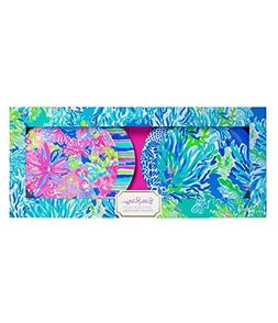 Lilly Pulitzer - Appetizer Plate Set - Wade and Sea - Set of