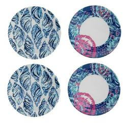 Lilly Pulitzer Appetizer Plates featured in Gypsea Girl - Se