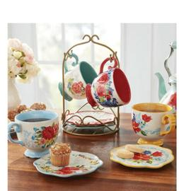 BRAND NEW IN BOX! Pioneer Woman Floral Medley Rack with Appe