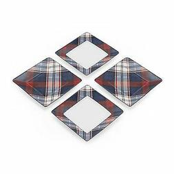 Tommy Hilfiger Gifts Collection Appetizer Plates, Set of 4