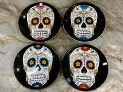Halloween Appetizer Plates Day Of The Dead Williams Sonoma S