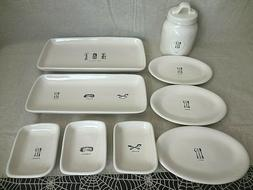 Rae Dunn Icon Home Cooking Serving Platters Utensil Appetize