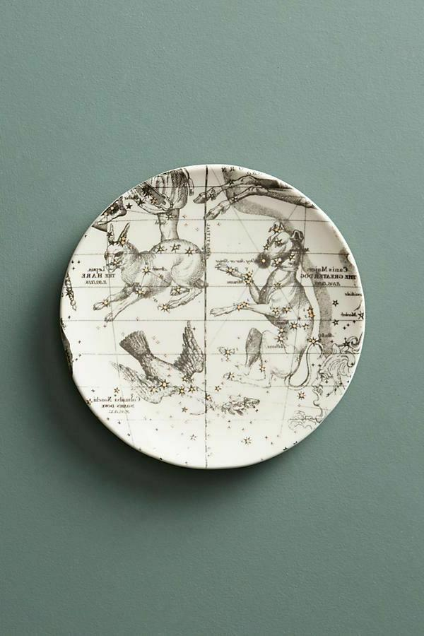 appetizer canape plates astrology chart