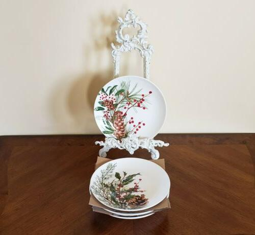 new williams sonoma woodland berry appetizer plates