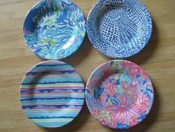 Lilly Pulitzer Melamine Appetizer Plate Set Small Wade And S