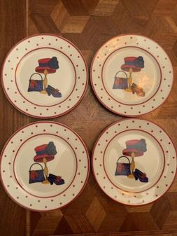 Red Hat Society Polka Dot A SPECIAL PLACE Appetizer Plates 2