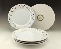 Brand New Pampered Chef Simple Additions Dessert Plates Set